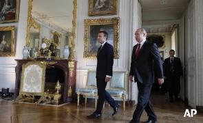 Emmanuel Macron Vladimir Puti