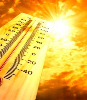 caniculă, termometru, soare, căldură