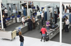 securitate, gate, aeroport