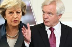 David Davis si Theresa May