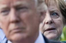 Angela Merkel Donald Trump Merkel Trump Merkel