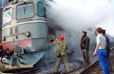 incendiu locomotiva