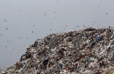 gunoi groapa de gunoi Glina