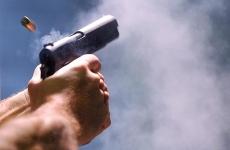 foc de arma, pistol
