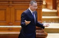 ponta parlament gesturi