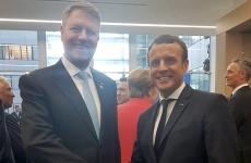 Iohannis Macron