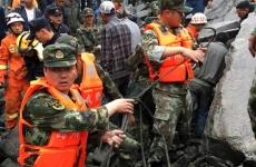 china, alunecari de teren