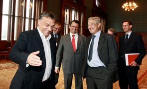 George Soros Viktor Orban
