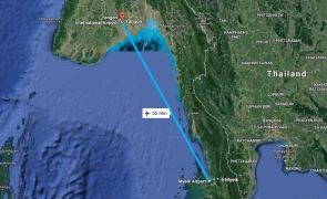avion, mianmar