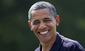Obama, casual