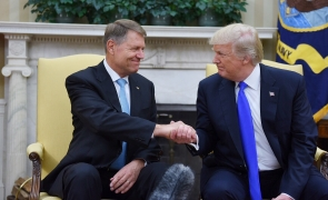 Trump Klaus Iohannis