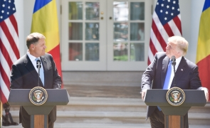Klaus Iohannis Donald Trump Klaus Iohannis trump iohannis