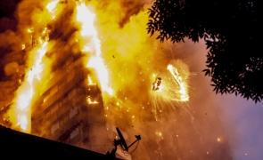 londra, incendiu