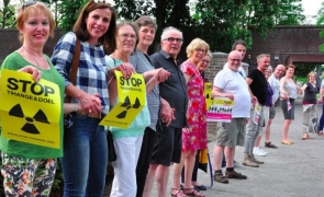 protest belgia