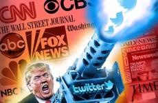 Trump presa press