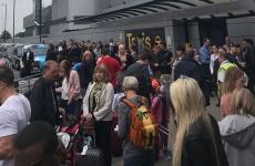 Manchester aeroport evacuat