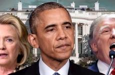 hillary, obama, trump