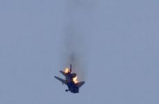 avion doborat, siria