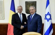 Liviu Dragnea Benjamin Netanyahu