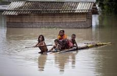 inundatii, india