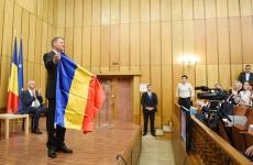 Klaus Iohannis tricolor