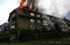 incendiu bloc Piatra Neamt
