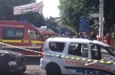 accident ambulanta Pitesti