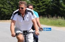Iohannis bicicleta Sibiu