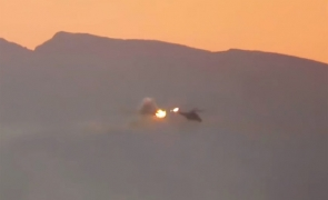 elicopter doborat ISIS