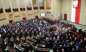 polonia, parlament