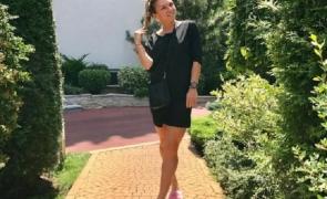 Simona Halep papuci roz