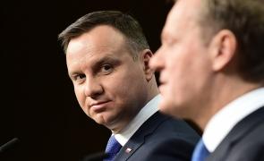 Andrzej Duda si Donald Tusk