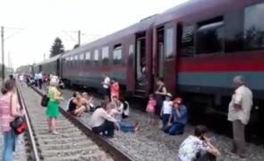 tren calatori camp