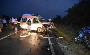 accident ambulanță
