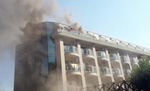 incendiu hotel turcia