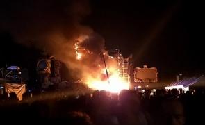 incendiu Tomorrowland