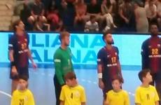 Barcelona handbal Polivalentă