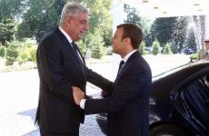 Mihai Tudose Emmanuel Macron