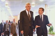 Emmanuel Macron Mihai Tudose