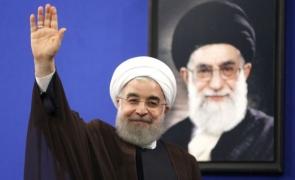Hassan Rouhani Ali Khamenei
