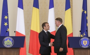 Inquam Klaus Iohannis Emmanuel Macron