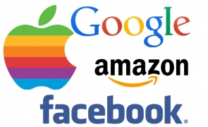 giganti internet - facebook, apple, google, amazon