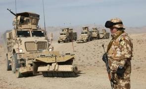 militari, soldați români Afganistan Kandahar
