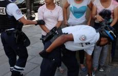 tigani franta politie