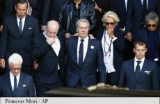 Alain Delon funeralii Mireille Darc