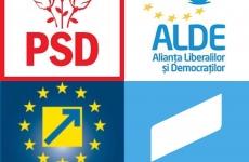 PSD ALDE PNL USR