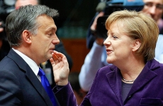 Angela Merkel Viktor Orban