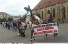 protest cluj anti-vaccinare obligatorie