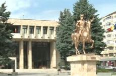 statuie aurie Mihai Viteazul