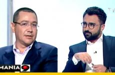 Victor Ponta Ionut Cristache TVR